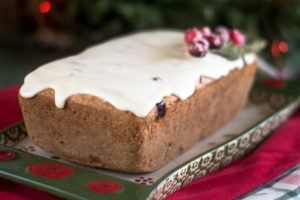 This Vegan Cranberry Orange Pound Cake would be perfect for serving on Christmas! Your family will just love this pound cake.