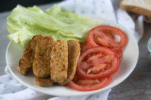 Vegan Hummus BLT