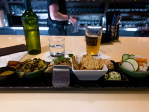 At Divvy, you'll find a sophisticated dinning space, specializing in shared plates.