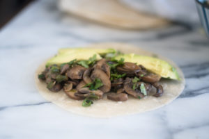 Have dinner on the table in less than 30 minutes with these Easy Mushroom Tacos.