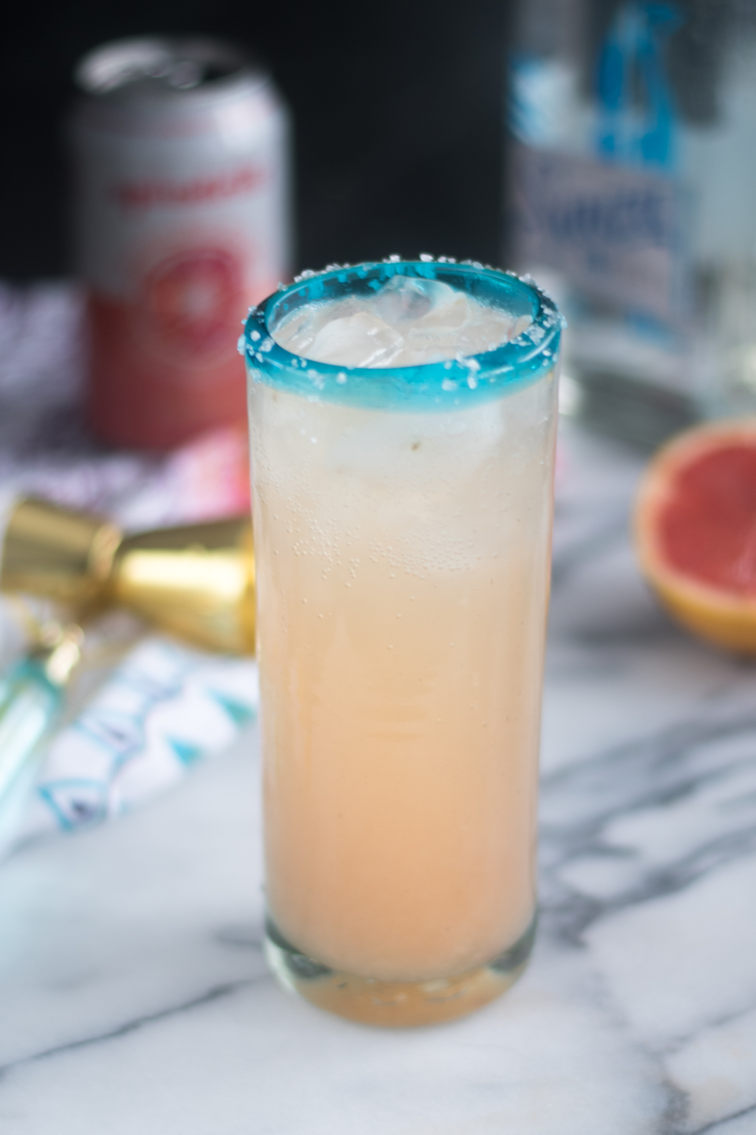 The Mexican Paloma Cocktail is one of Mexico's most beloved cocktails. After making my first Paloma, it was easy to see why the Paloma is more popular than the margarita in Mexico.