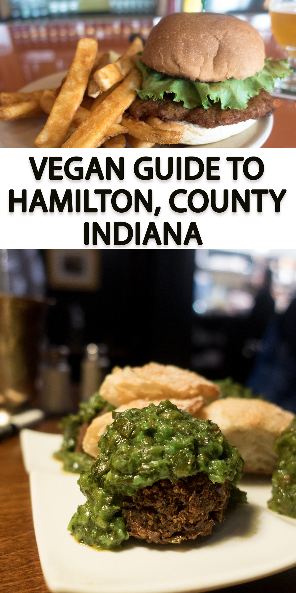 This Vegan Guide to Hamilton County, Indiana will show you all the best vegan-friendly places to eat at! #indiana #midwest #travel #vegan #travelguide #vegantravel