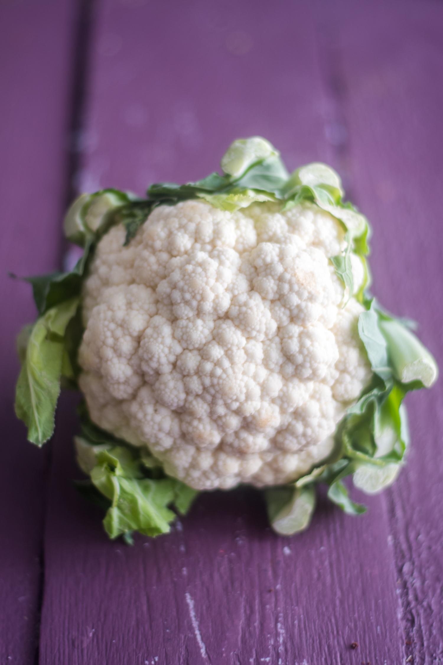 Cauliflower based pasta recipe.