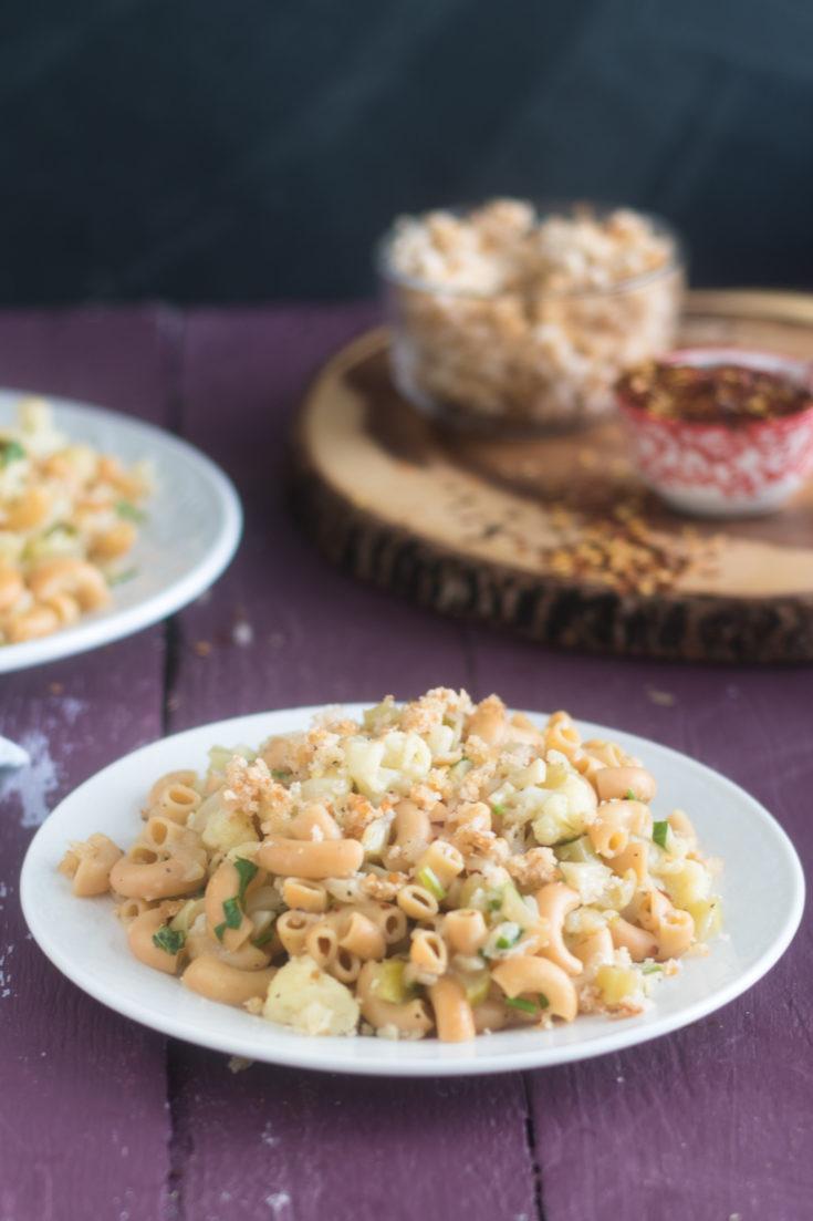 Vegan Cauliflower Pasta