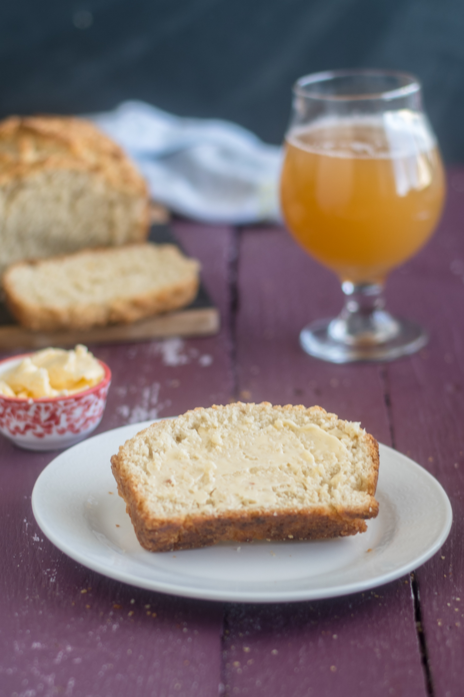 It is so easy to make a loaf of homemade bread at home. This vegan beer bread is so easy to make. #vegan #bread #recipe #easyrecipes
