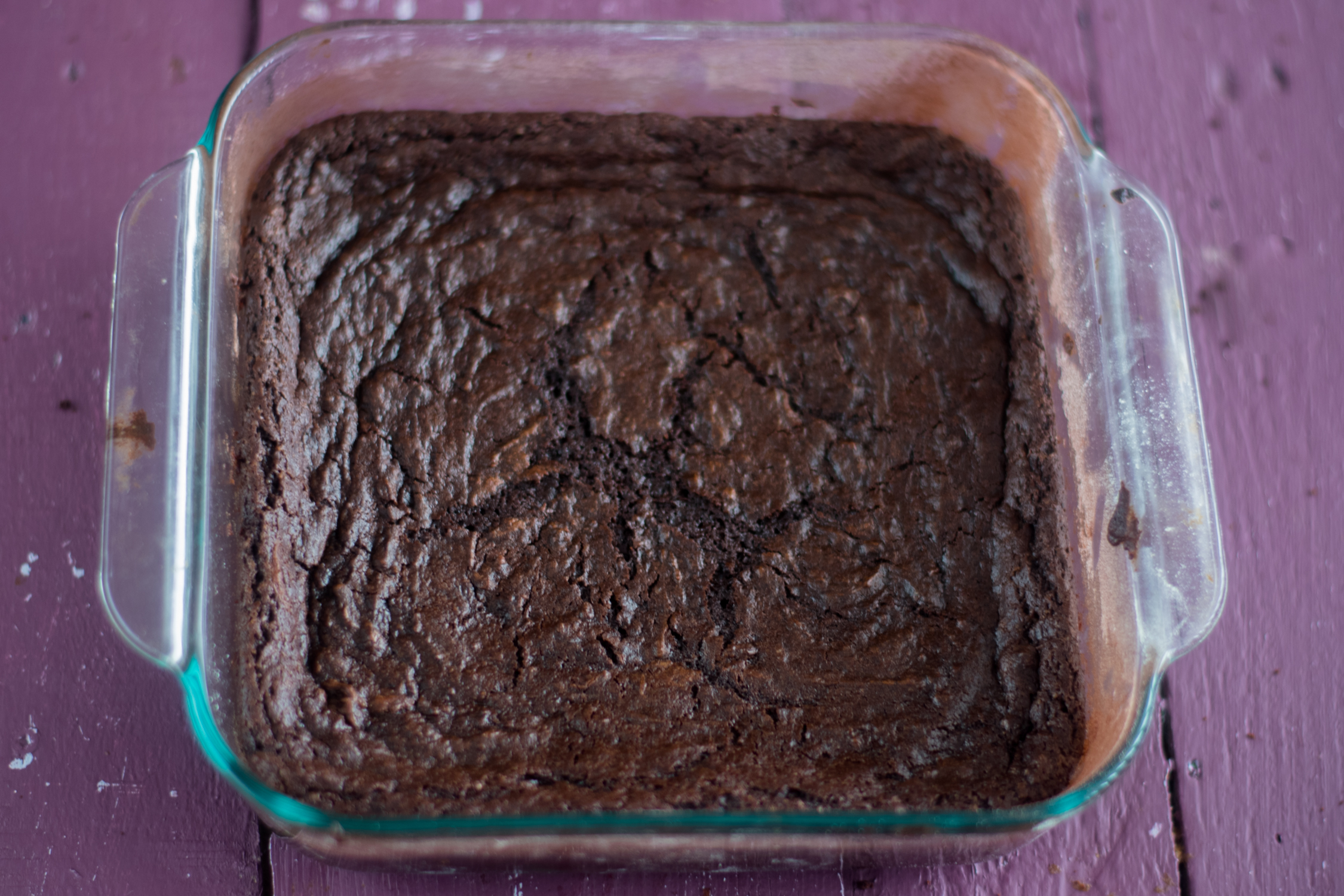 Vegan brownies made with red wine. #vegan #dessert #brownies #recipe #wine