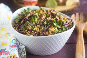 This Vegan Thai Peanut Millet Salad is fresh, budget-friendly, and loaded with nutrients and fiber.