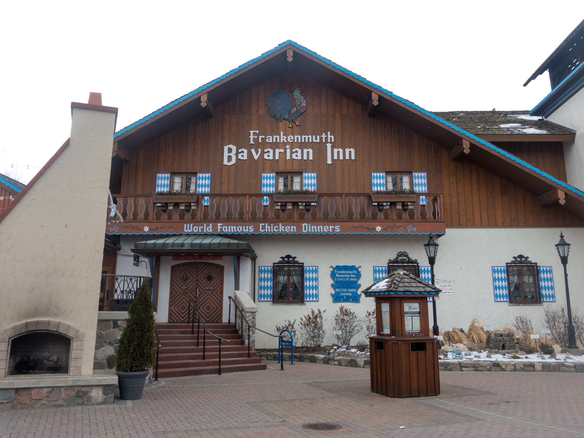 This Vegan Guide to Frankenmuth, Michigan will show you were you can find vegan options in Michigan's Little Bavaria. #Vegan #travel #Michigan #frankenmuth