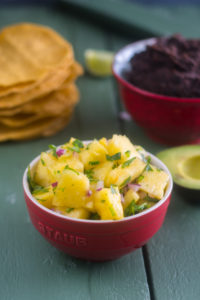Pineapple Salsa is perfect for taco night!