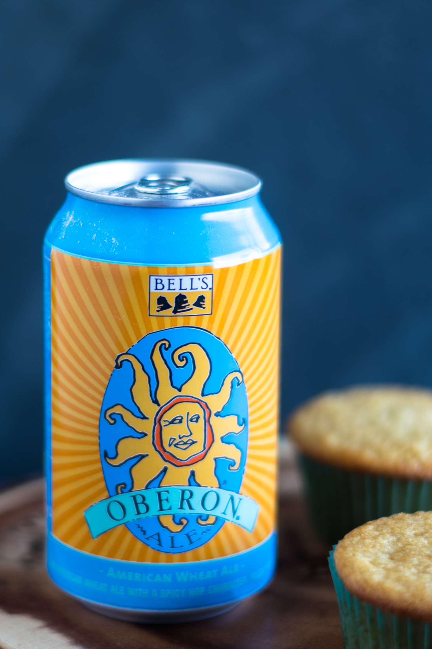Oberon—a wheat ale made with just four ingredients. Every March Oberon if officially released and people go crazy for it. Oberon release day is the unofficial start of spring here in Michigan! Bell's Eccentric Cafe in Kalamazoo has a big party on release day.