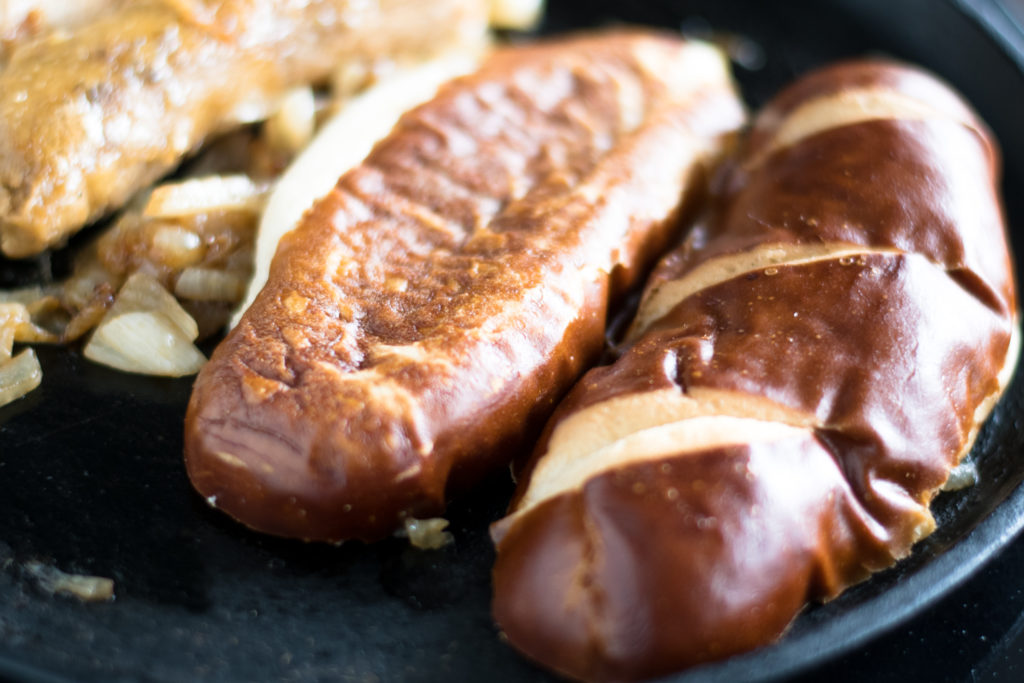 Vegan Beer Brats are perfect for summer! This recipe is inspired by the traditional Midwest beer brat.