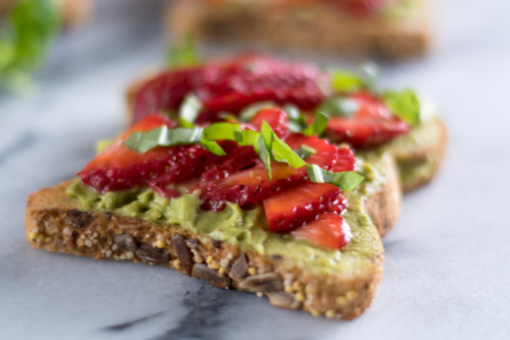 Strawberry Avocado Toast