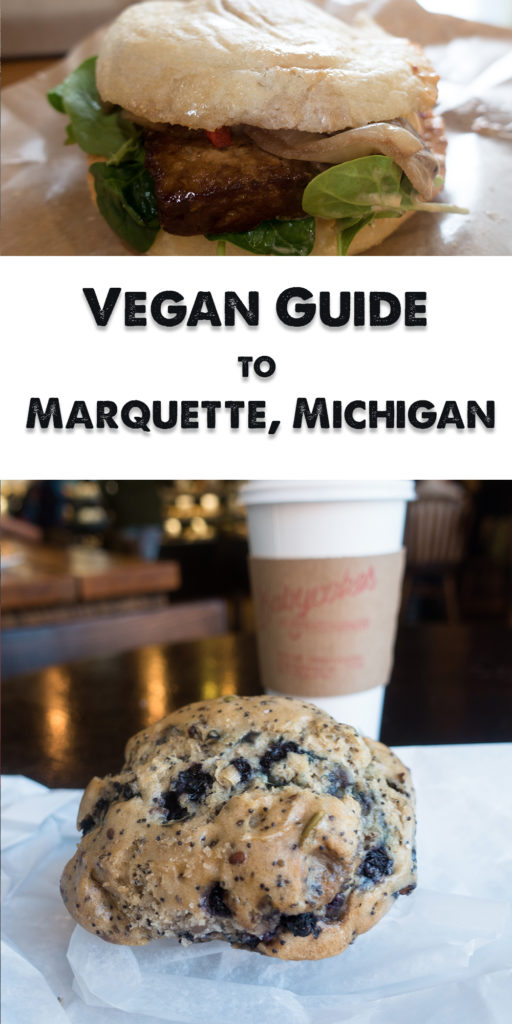 Located on the Southern shores of Lake Superior in the Upper Peninsula, Marquette is the perfect getaway for anyone seeking nature, outdoor adventure, great food and beer. This Vegan Guide to Marquette, Michigan will show you where you can find vegan options on your trip up to Marquette! #travel #Michigan #Marquette #Travelguide #traveltips #Midwest #food #vegan #vegantravel