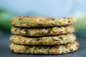 Quick and easy vegan zucchini Fritters