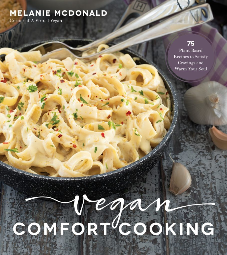 In Vegan Comfort Food, you will find 75 recipes that will satisfy any comfort food craving! From breakfast recipes, dinner recipes, snacks and lots of amazing of desserts, you'll discover a new comfort food recipe to enjoy!