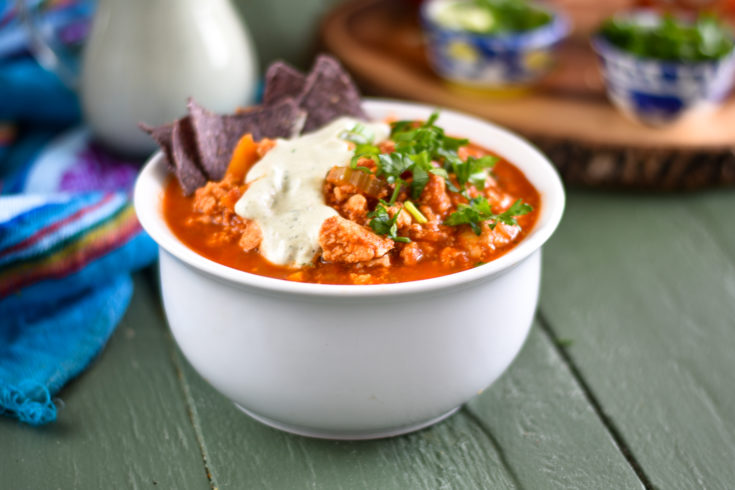 Buffalo Tofu Chili