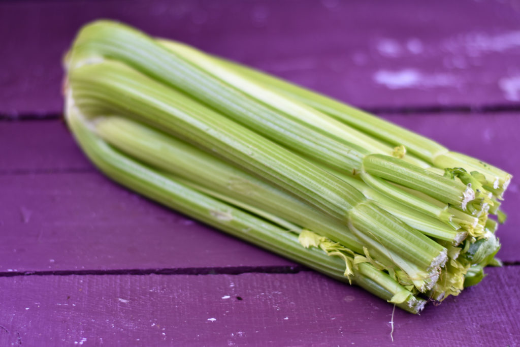 Celery is a nutrition powerhouse and full of nutrients. It is a great way to flight inflammation and support digestion. #celery #healthy #healthyfood #nutrition