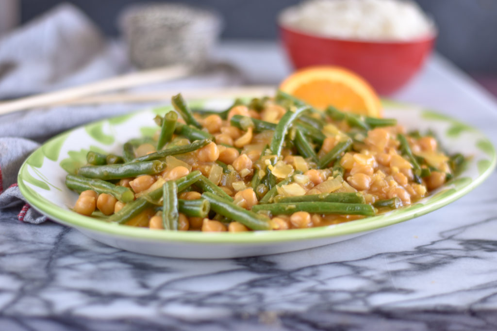 Stir fries are a healthy plantbased dinner option!