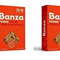 Banza Chickpea Penne Pasta, 8 Ounce (Pack of 2)