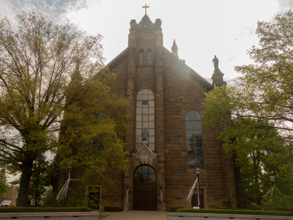 Located right in Jasper is St. Joseph Church—an 1880 Romanesque, old world-style church. The church was built by the early parishioners and showcases German stained-glass windows.