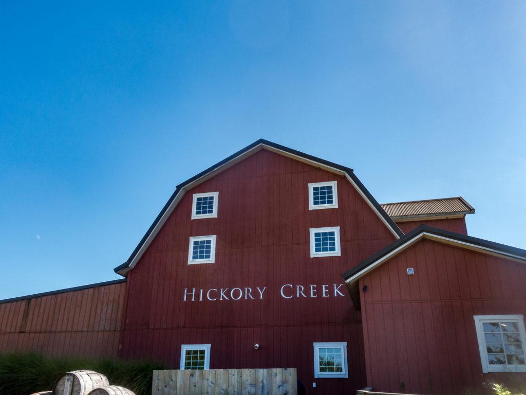Hickory Creek Winery focuses on small batch production featuring classic, European-style wines made from locally grown grapes.