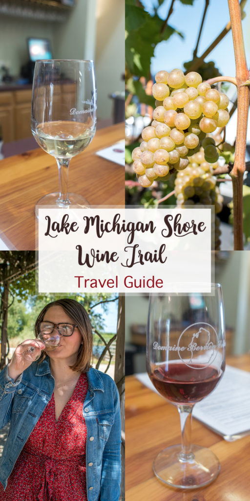 Did you know that the Lake Michigan Shore Wine Trail is home to 18 wineries located along the Michigan lakeshore? This travel guide will show you how to visit the Lake Michigan Shore Wine Trail and why is should be on your bucket list! #Travel #Michigan #wine #winetravel #winery #Midwest #travelguide