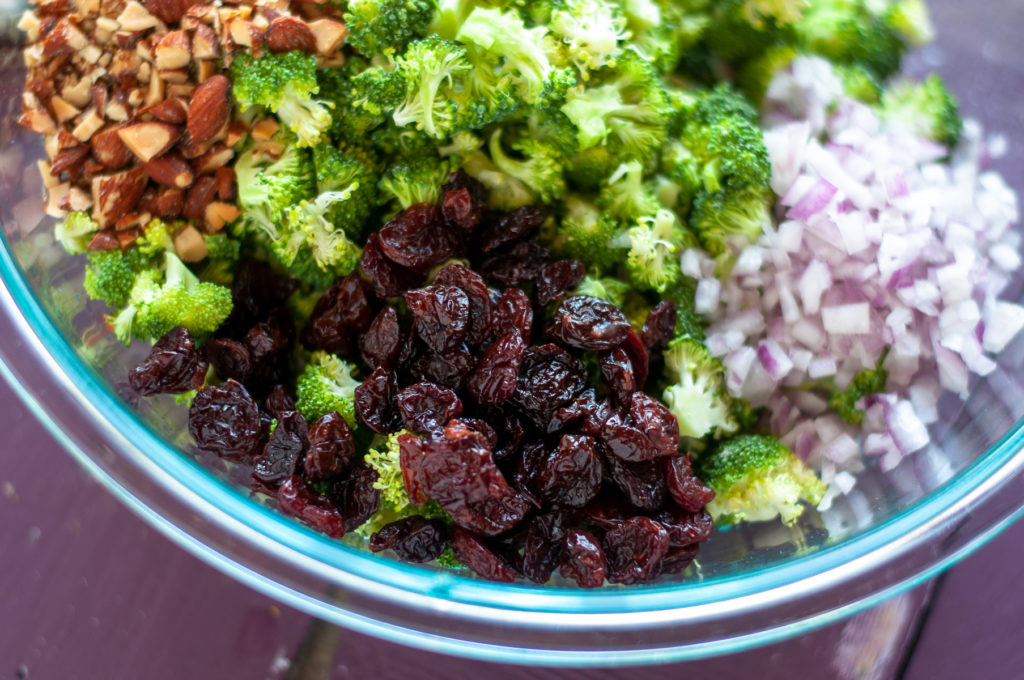 Dried Cherries are a delicious addition to broccoli salad!