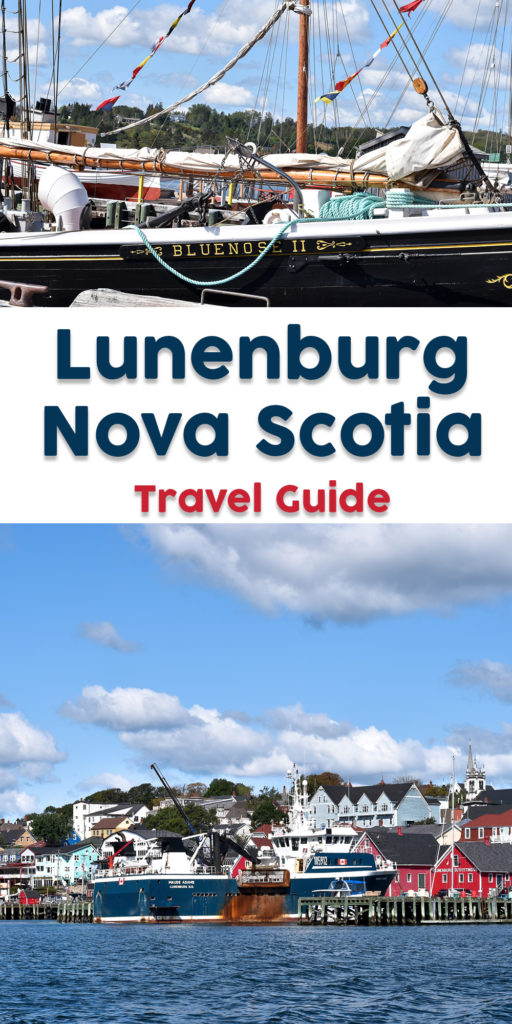 This Lunenburg, Nova Scotia Travel Guide will help you plan your trip to Old Town Lunenburg. If Lunenburg isn't on your radar, this post just might inspire you to start planning a trip to Nova Scotia! #travel #Canada #NovaScotia #Lunenburg #SouthSouth #NorthAmerica #historic #fishingtown #UNSECO #travelguide