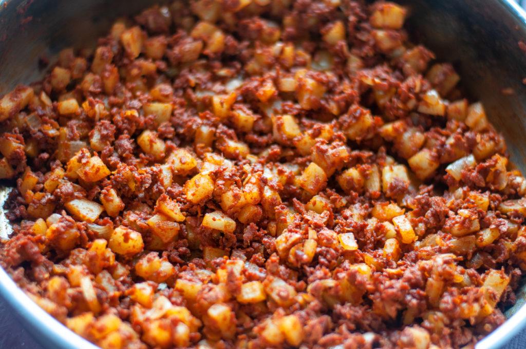 chorizo-taco-filling