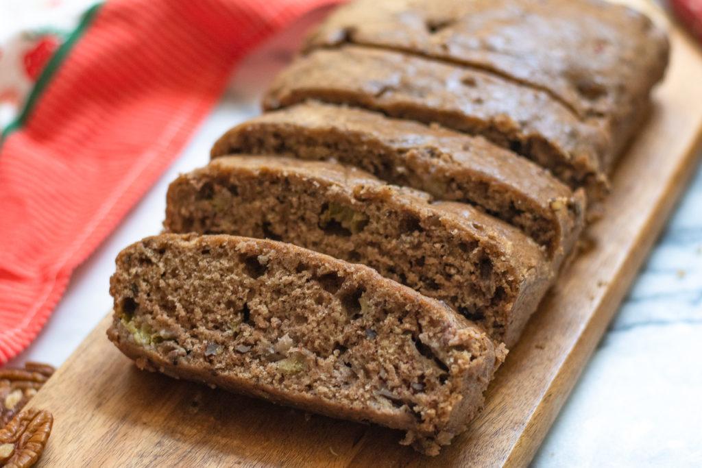 Rhubarb-bread