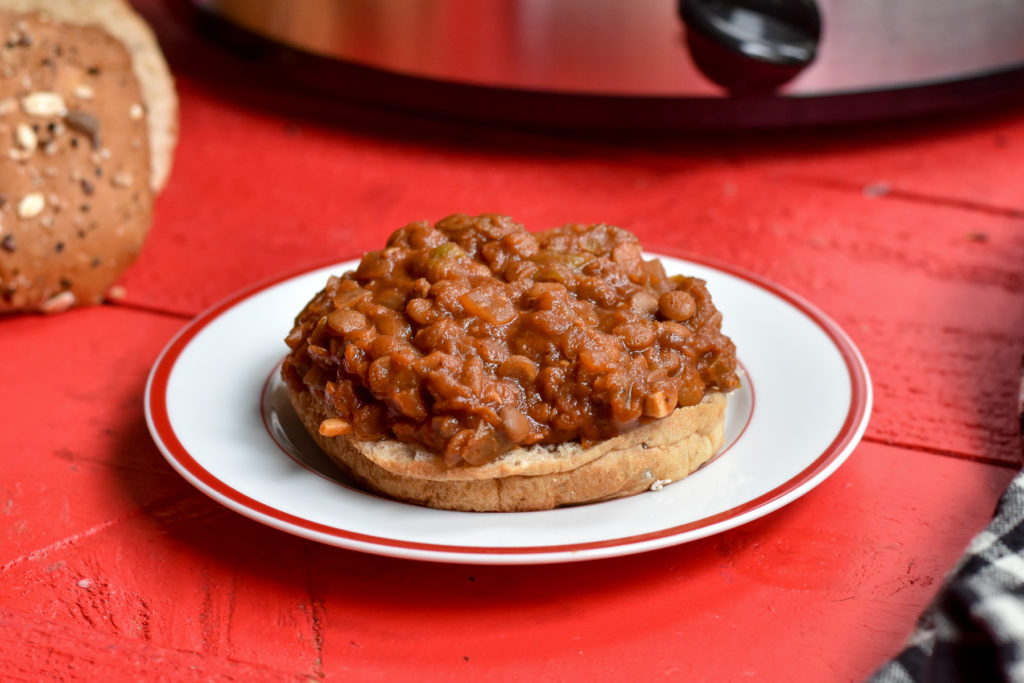 These Slow Cooker Lentil Sloppy Joes are a plant-based version of the classic recipe we all know and love.