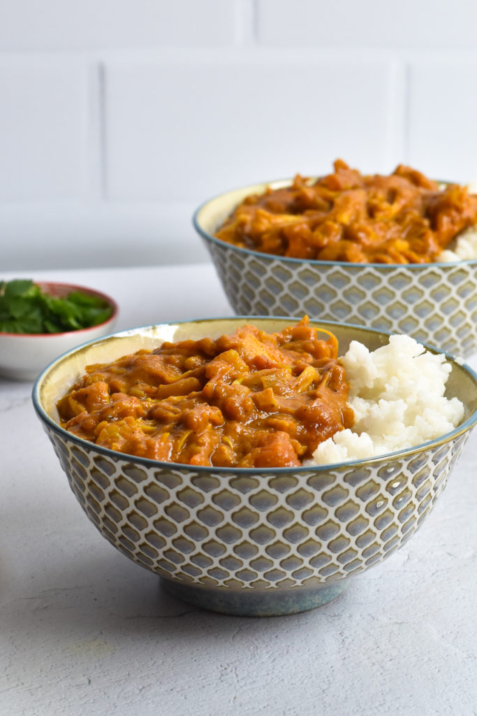 Pumpkin doesn't have to be used in just sweet recipes. Canned pumpkin puree is great in savory recipes too!