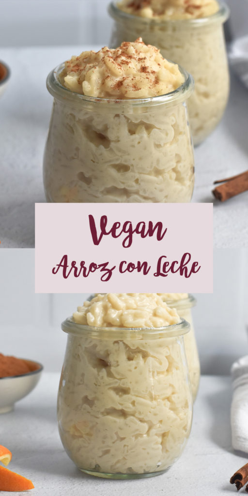 If you find yourself looking for a different dessert during the holidays, this Vegan Arroz con Leche. It is perfect this time of year. #vegan #arroz #Mexican #VeganMexican #dessert #breakfast #rice #glutenfree #pudding #Christmas
