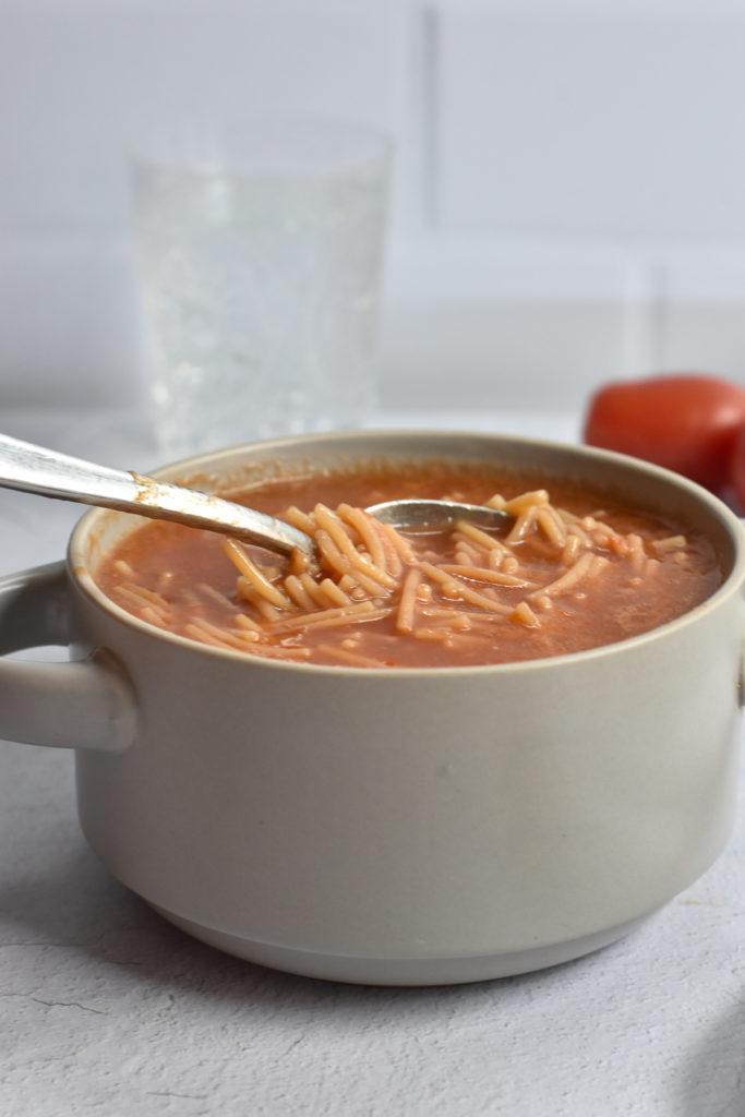 Mexican noodle soup