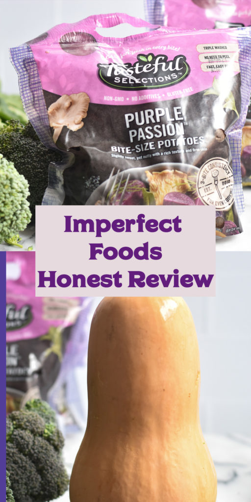 An honest review of Imperfect Foods. Is it worth trying? #review #groceries #delivery #food #healthy #vegan #Imperfectfoods