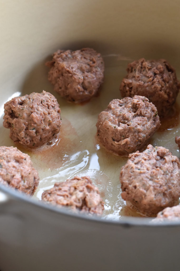 Beyond Meatballs are a delicious vegan meatball perfect for pasta.
