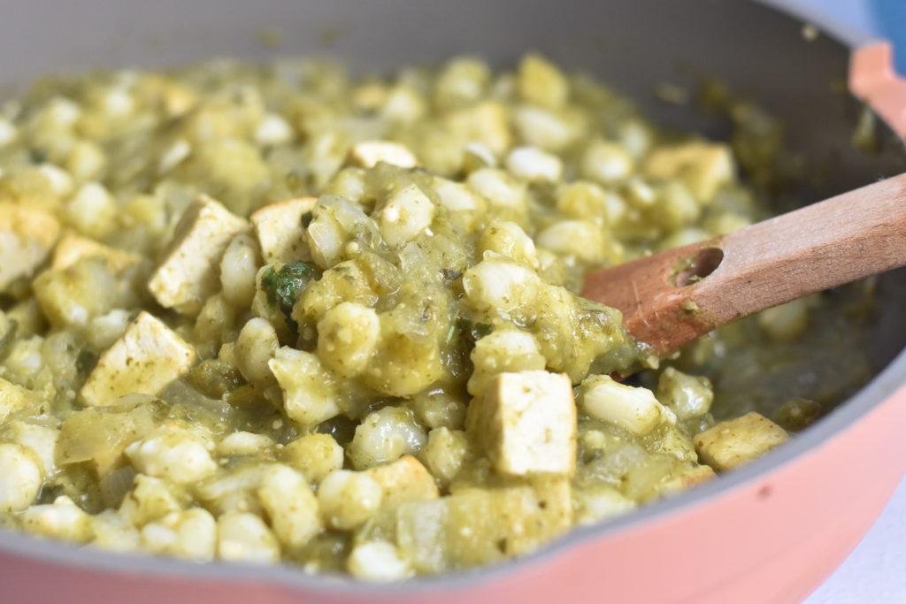 A delicious, comforting tofu recipe .