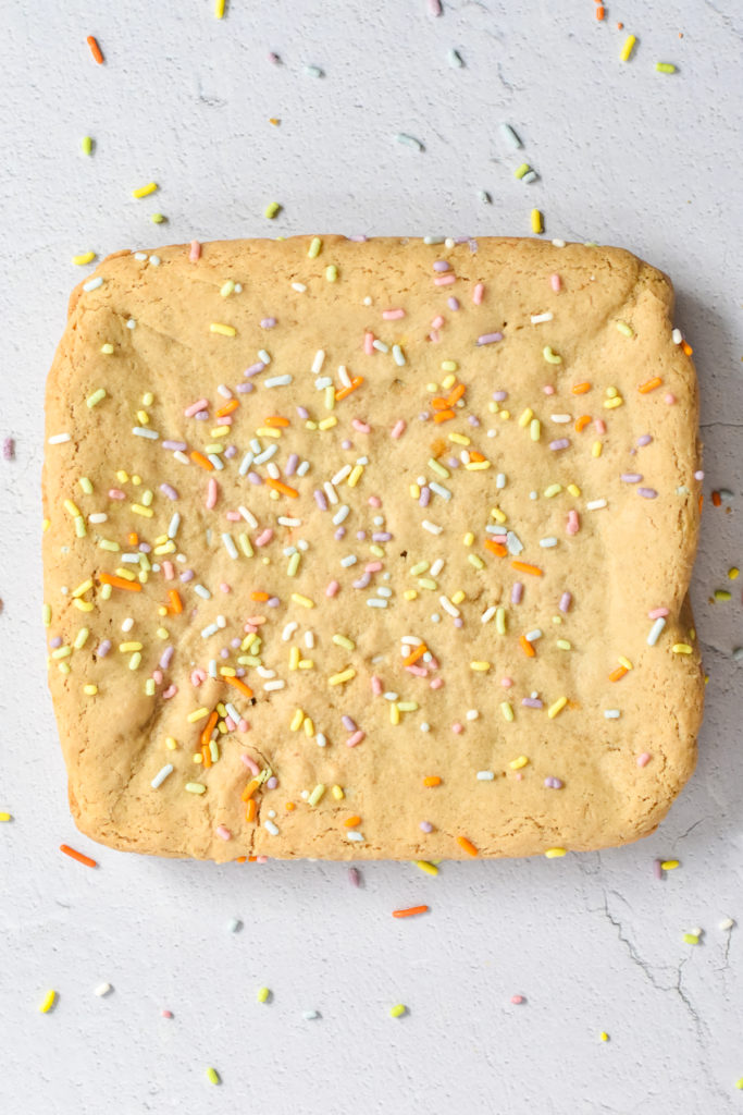 These Vegan Funfetti Blondies are the perfect treat for kids and the holidays!