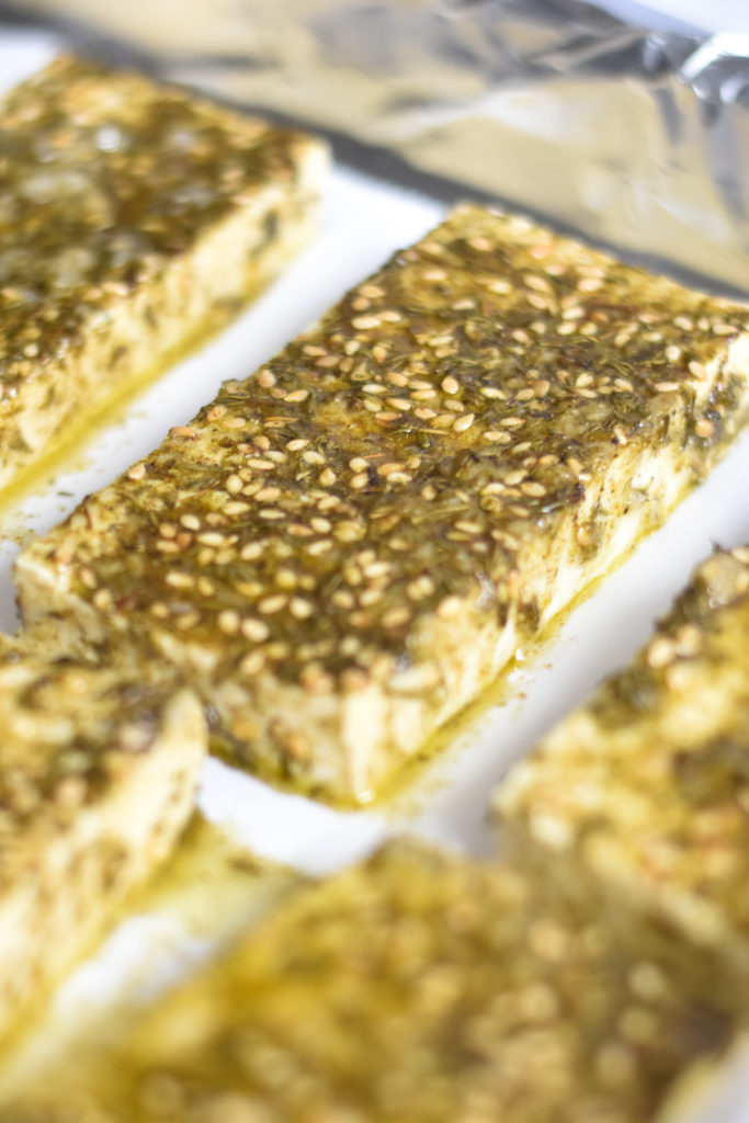 A Middle Eastern inspired tofu recipe.