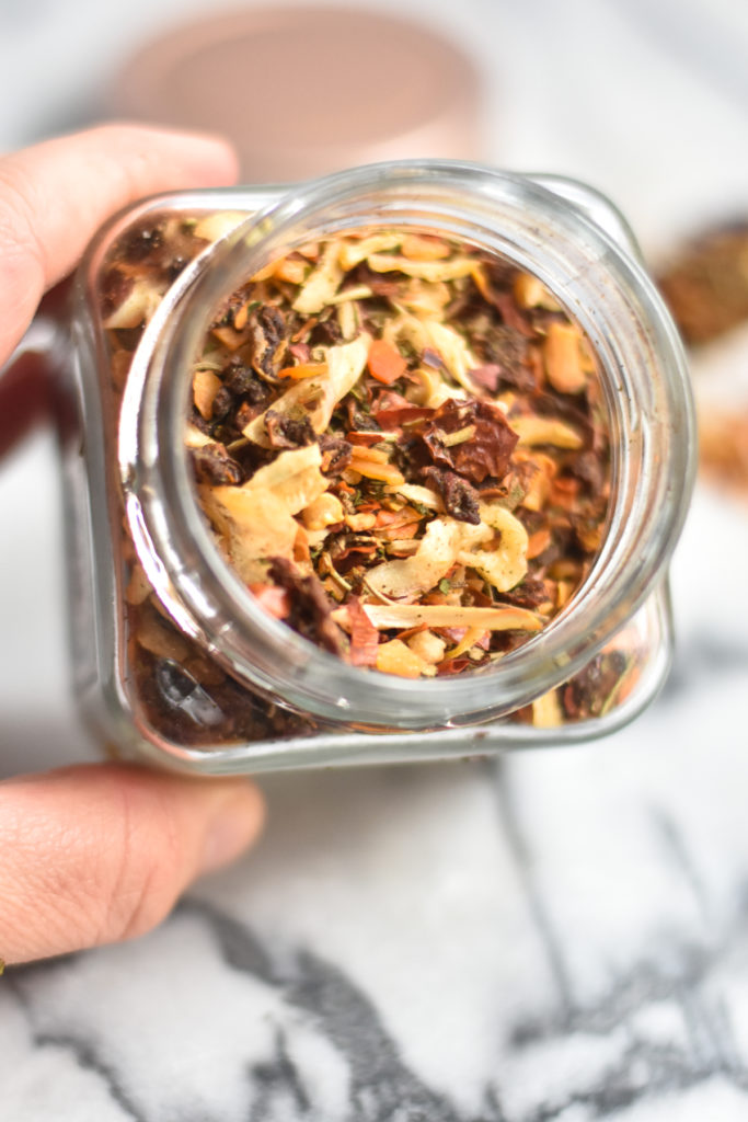 Soffritto spice blend from Trader Joe's add so much flavor to recipes!