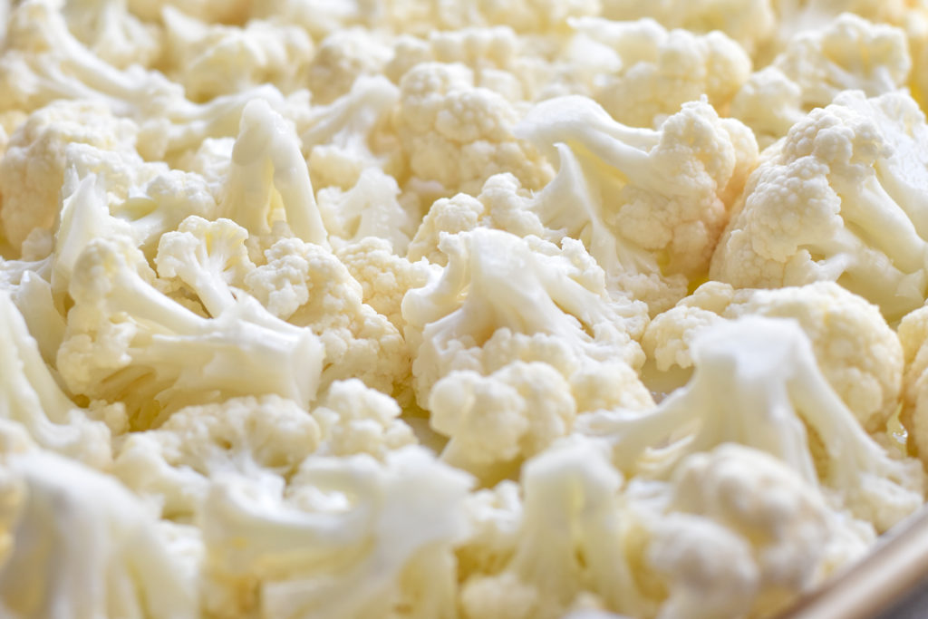 Cauliflower is so versatile. Roasting cauliflower is a great addition to wraps and tacos.