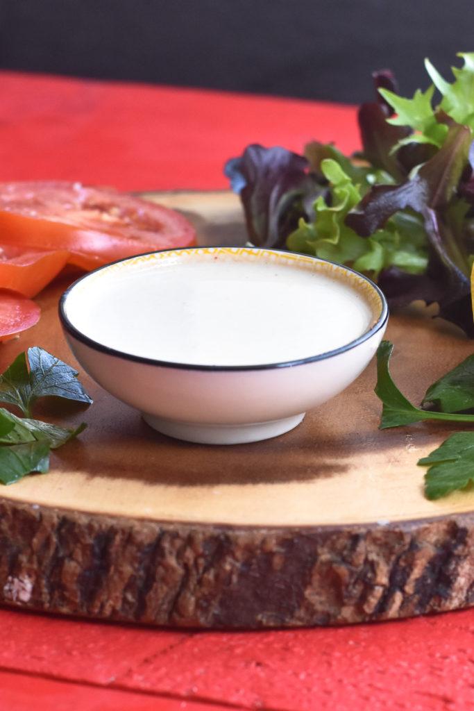 Easy Lemon Garlic Tahini Sauce