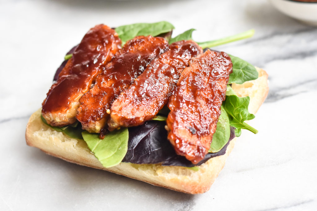 How to make BBQ Baked Tempeh