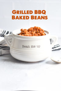 Just in time for grilling season, this recipe for Grilled BBQ Baked Beans is a summer staple.