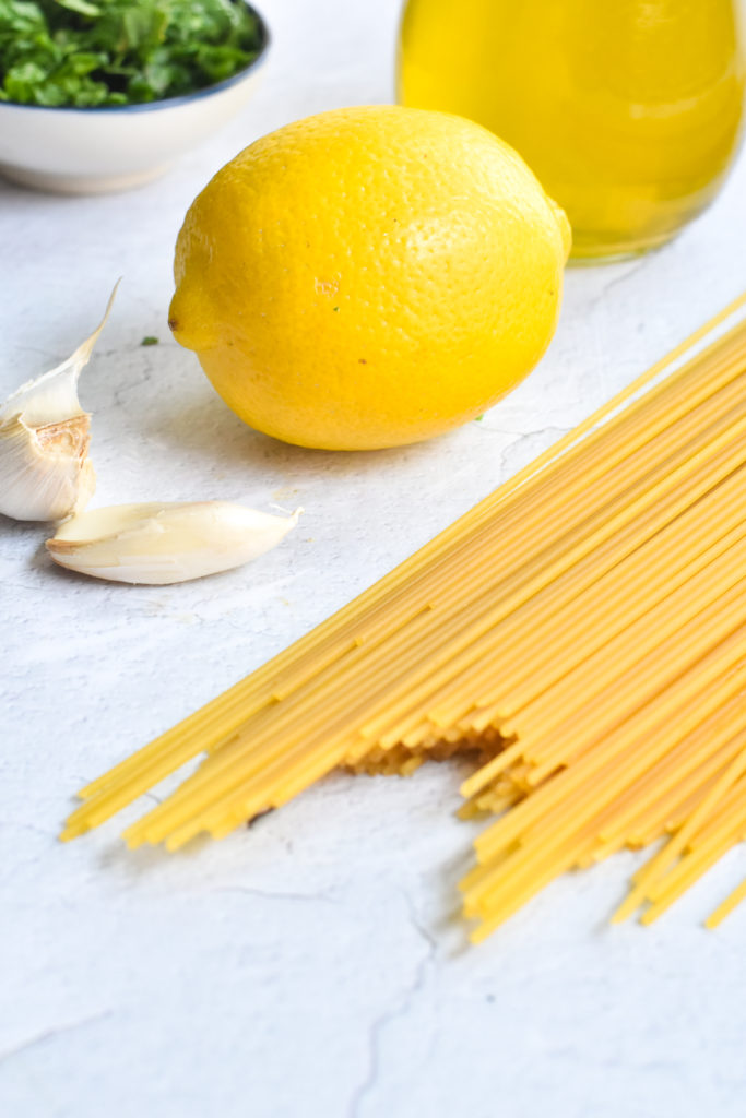 Lemon is the star of this easy pasta recipe.