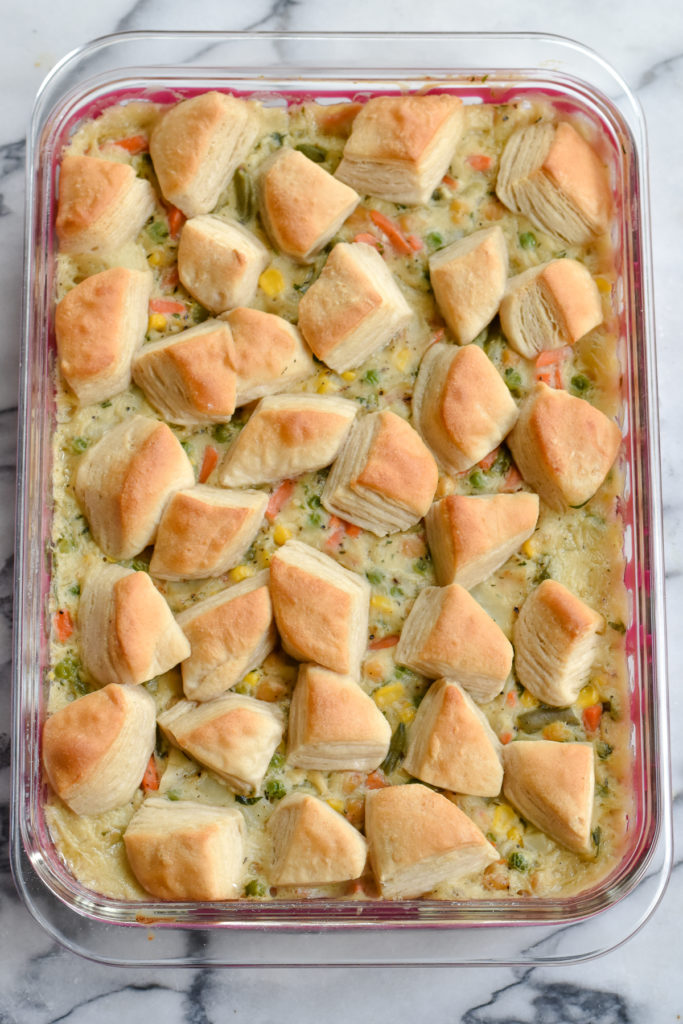 If you are looking for a dish that all types of eaters will enjoy, this veggie pot pie is perfect!