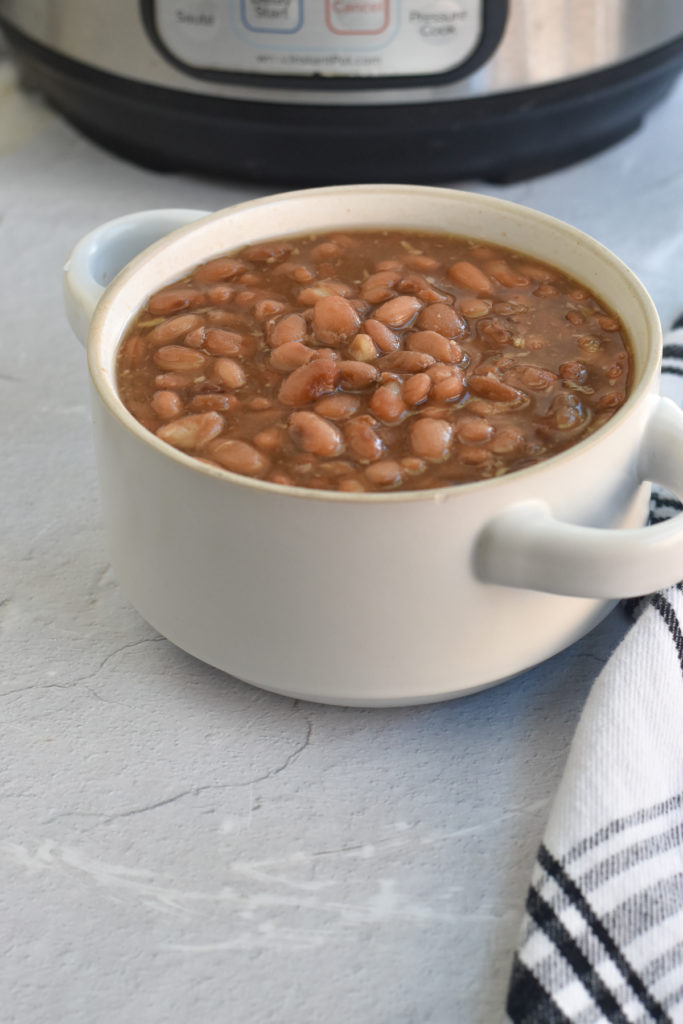 Mexican pinto beans are so versatile. I love meal prepping a batch and enjoying throughout the week. From tacos, soups to refried beans there are so many delicious ways to use cooked pinto beans.
